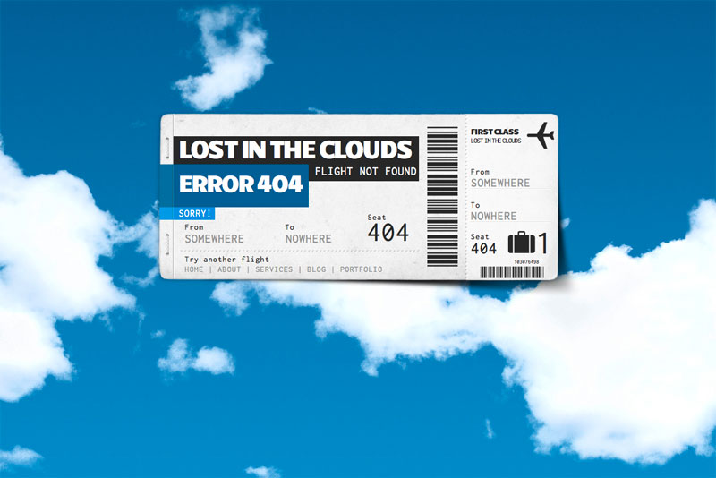 Lost in the Clouds Error 404